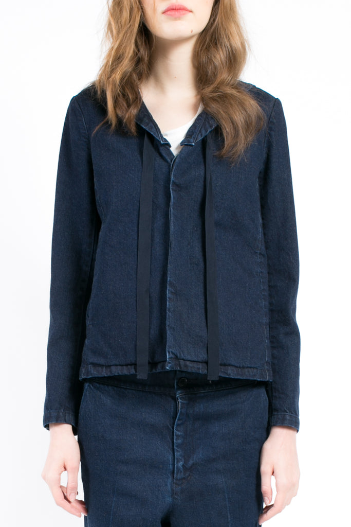 Denim Sailor Blazer