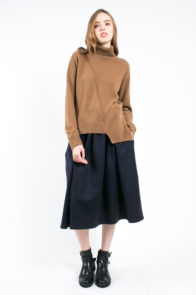 Asymmetric Turtleneck