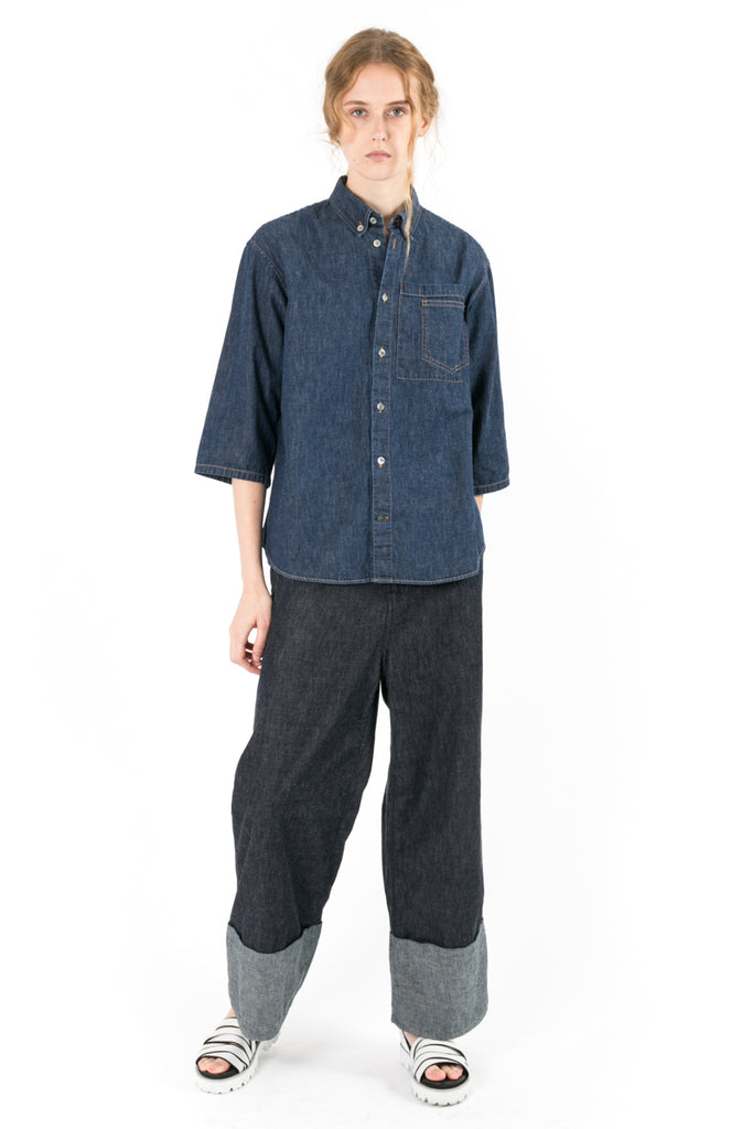 Baseball Denim Shirt