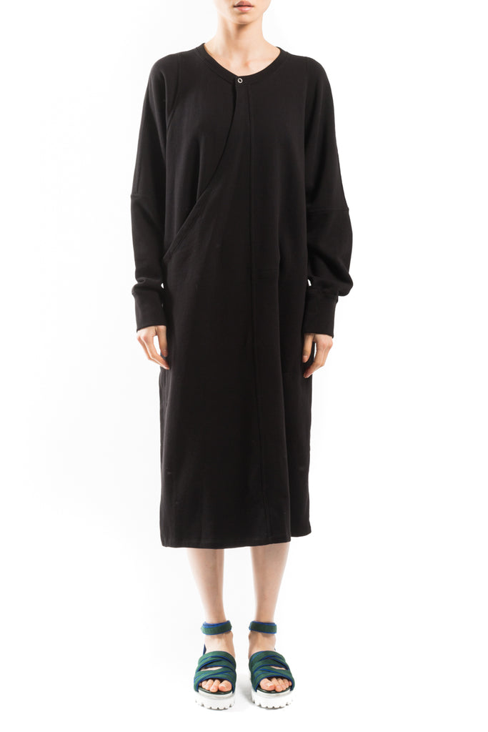 Minimal Oversize Sweatshirt Dress
