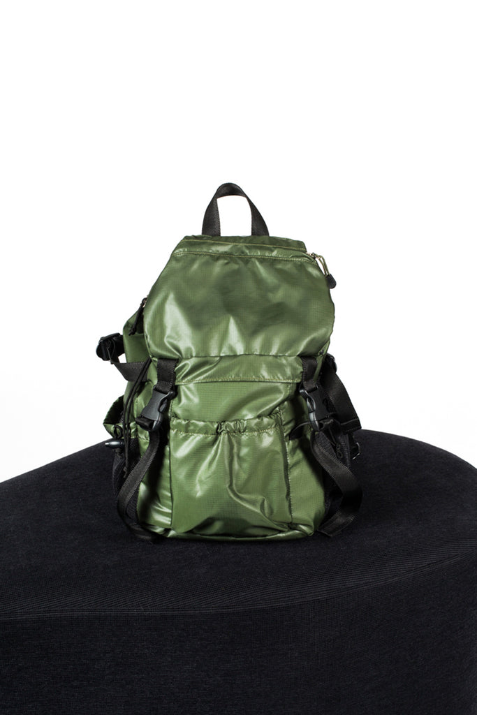 Kaki Backpack Bag