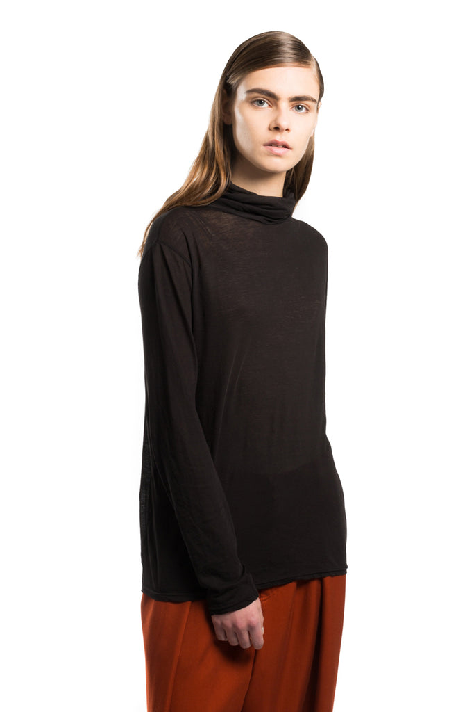 """Supima Light"" Turtleneck"