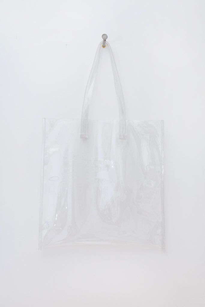 Vinyl Transparent Tote Bag