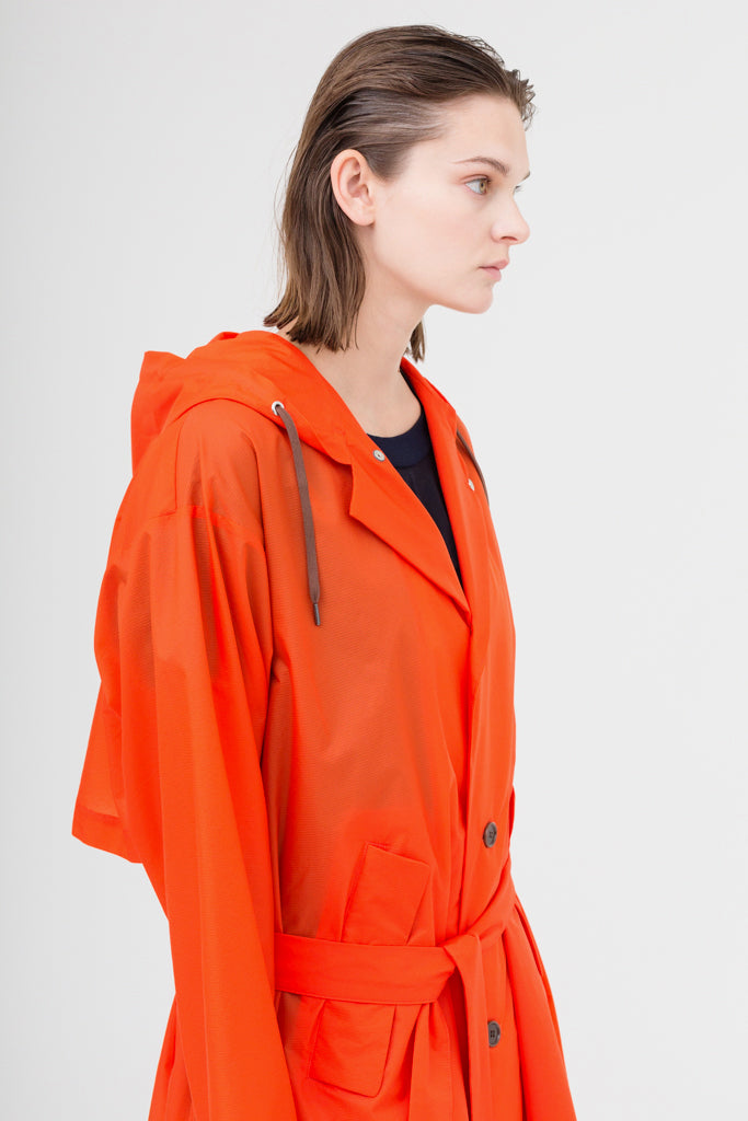 Nylon Packable Coat