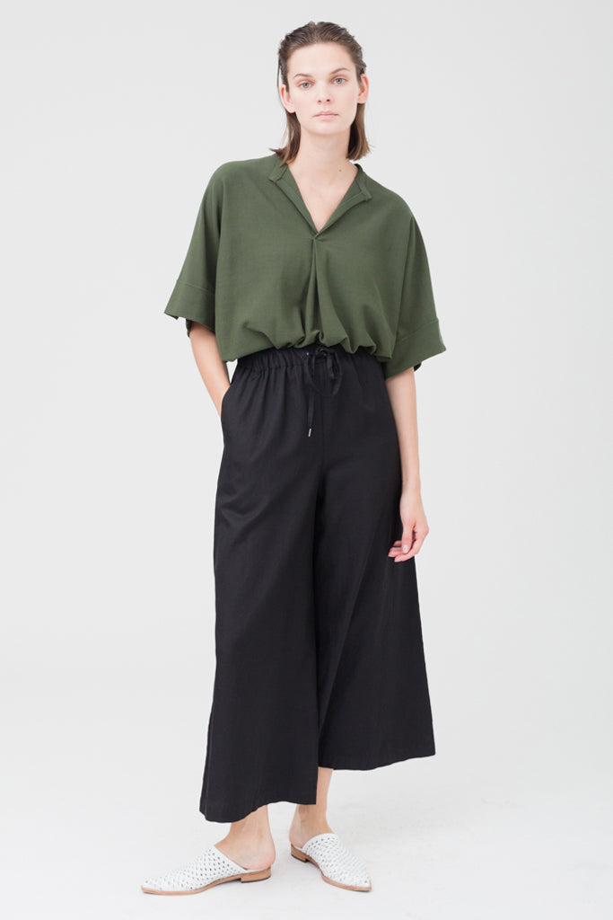 Cotton Rayon Twill Pants
