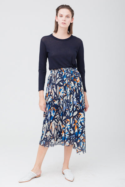 Flower Pleats Skirt