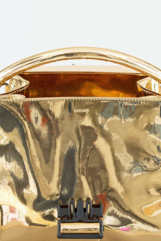 Gold Buckled Bag