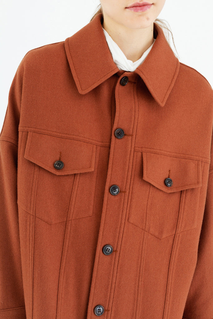 Light Wool Worker Jacket