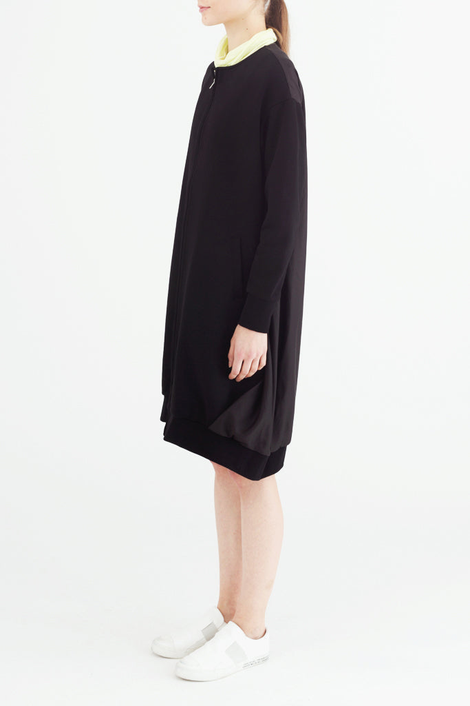 Combination Long Cardigan
