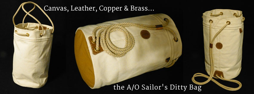 Canvas & Leather - Traditional Hand-built Ditty Bags & Seabags by Morris & Barth