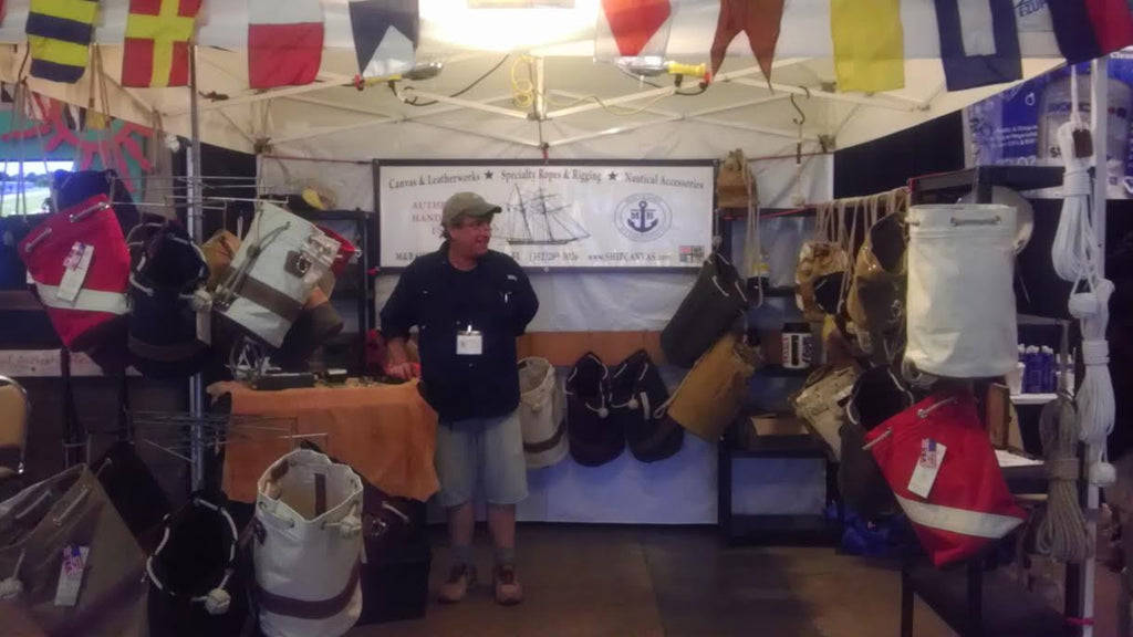 M&B SHIPCANVAS at the 2017 Bradenton Boat Show