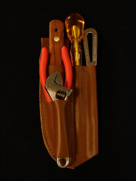 5-Piece Rigger's Kit with Leather Sheath