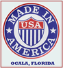 Made in Ocala, Florida (USA)