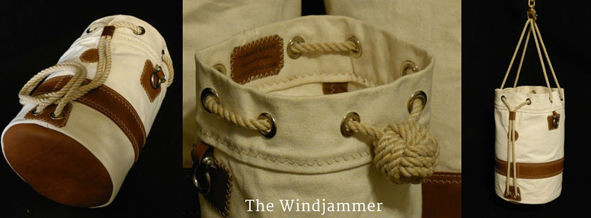 The Windjammer Seabag by Morris & Barth
