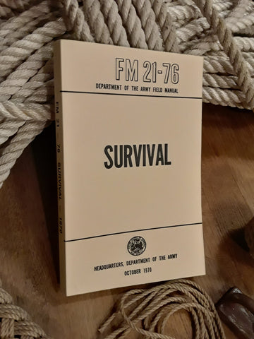 SURVIVAL: Army Field Manual FM 21-76