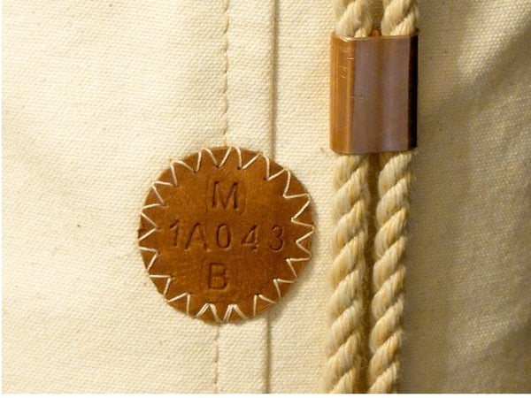 Embossed Serial Number - A/O Sailor Ditty Bag