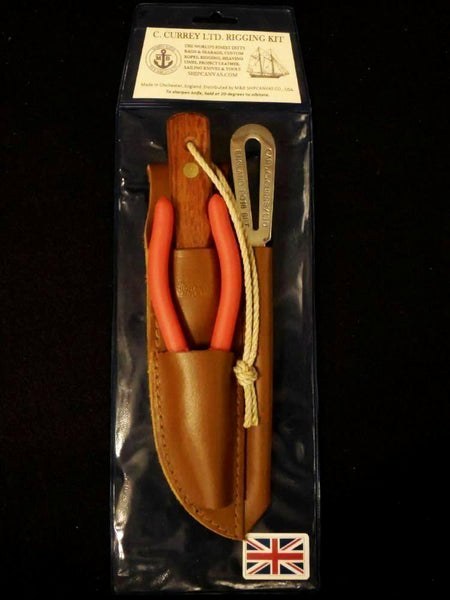 Captain Currey Sheath Knife Kit 40139 from Morris & Barth