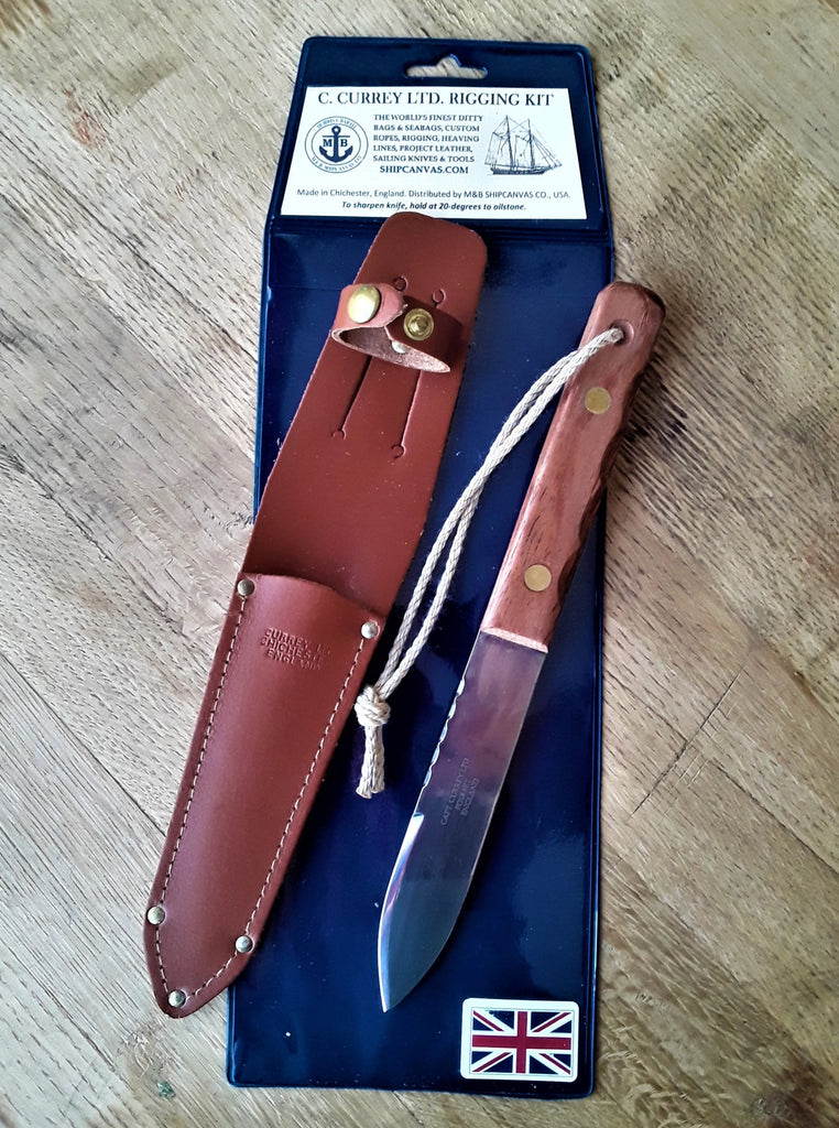 Captain Currey Special Edition Deck Knife at SHIPCANVAS