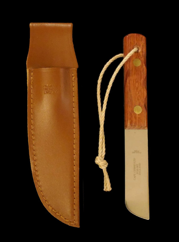Captain Currey Rigging Knife w/ Leather Sheath