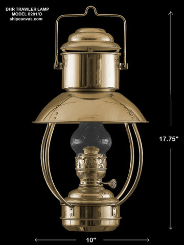 DHR Trawler Lamp Model 8201/O at SHIPCANVAS
