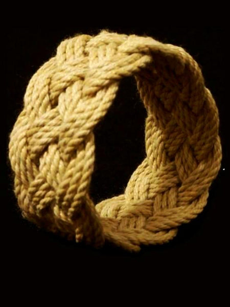 Extra Wide Turks Head Sailor's Bracelet by Morris & Barth