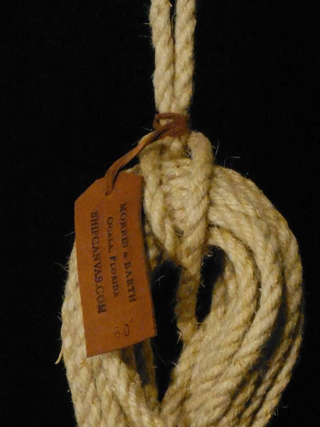 Hemp Rope Heaving Line w/ Monkey Fist