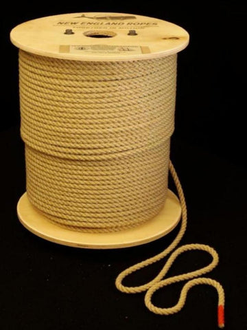 "5/16"" New England Vintage 3 Strand Rope"