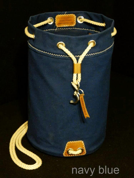 Rum Runner Seabag shown in Navy Blue