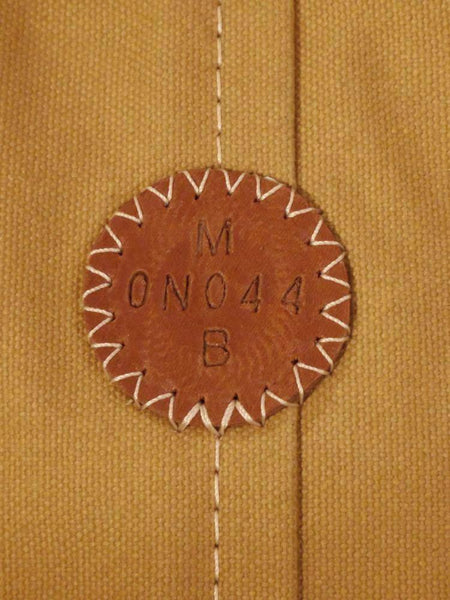 Embossed Leather Serial Number Badge