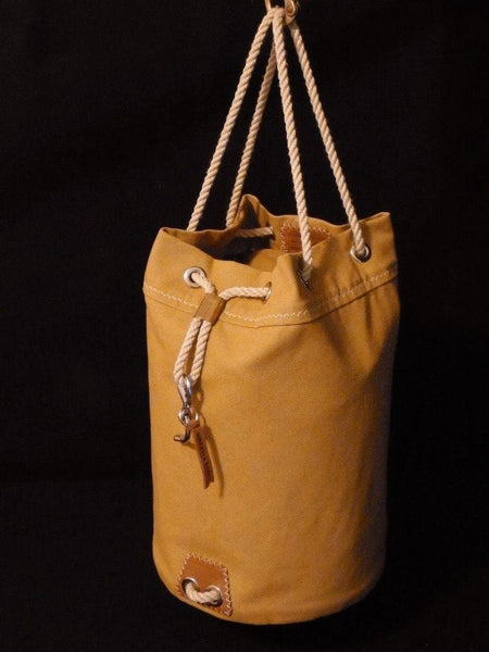 Rum Runner Seabag - Configured as an upright 2-handle tote bag