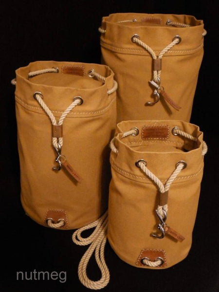 Rum Runner Seabag Set - 3 Bags shown in Nutmeg (Standing Upright)