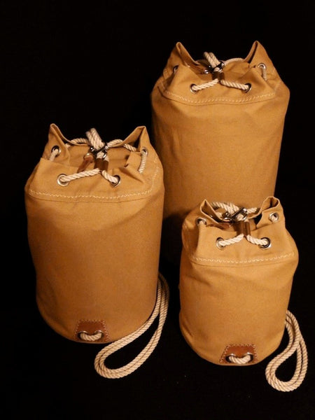 Rum Runner Seabag Set - All 3 Bags (stuffed, upright)