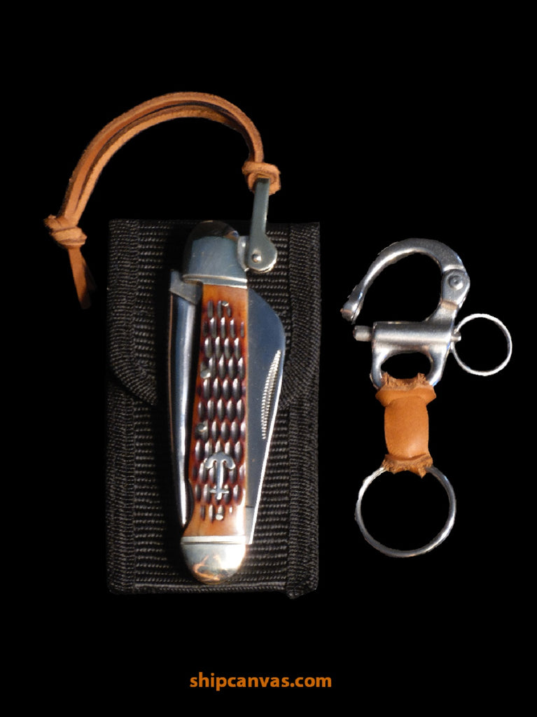 SHIPCANVAS Rigging Knife Set (BR)