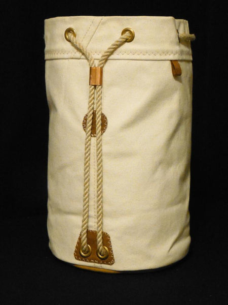 Waxed Canvas Ditty Bag - New England Rope Lanyard