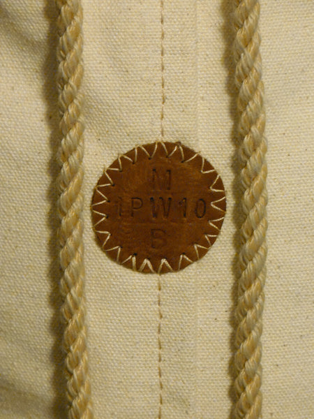 Windjammer Elite - Leather badge with Serial Number (embossed)
