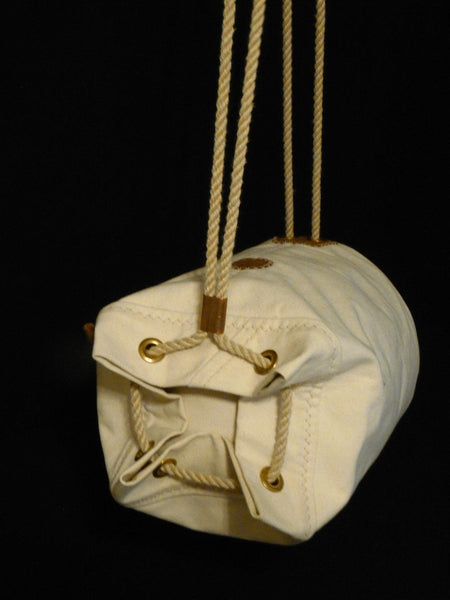 A/O Sailor Ditty Bag - Canvas Duffel Bag, Crossbody Messenger Bag