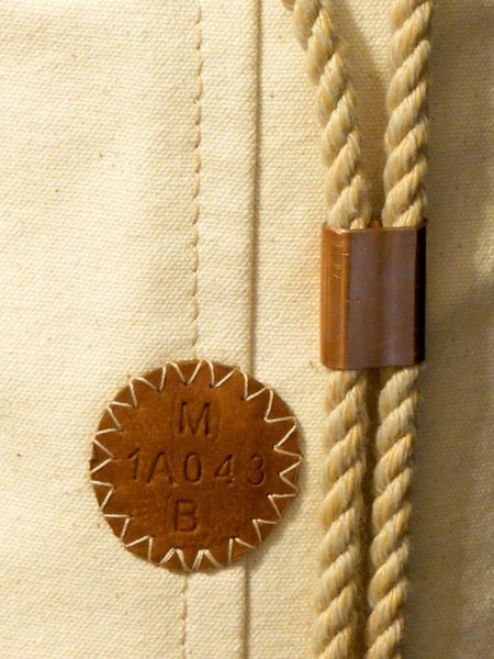 Leather Badge - Embossed Serial Number