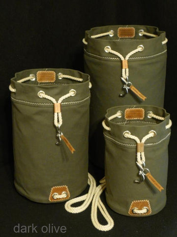 Rum Runner Seabag Set - shown in Olive Drab (Dark Olive)