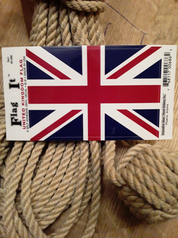 "UK / British Flag Decal ""Union Jack"""