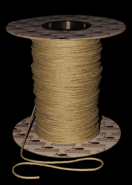 3 strand rope hemp color New England Vintage