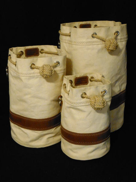 Canvas & Leather Seabags by Morris & Barth SHIPCANVAS.COM