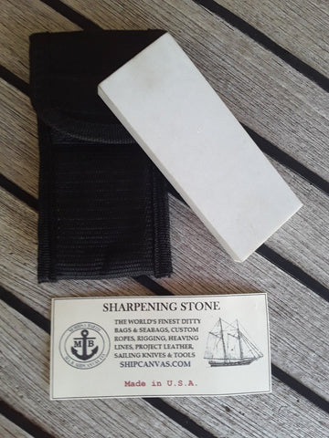 Pure Arkansas Sharpening Stone for Rigging Knife