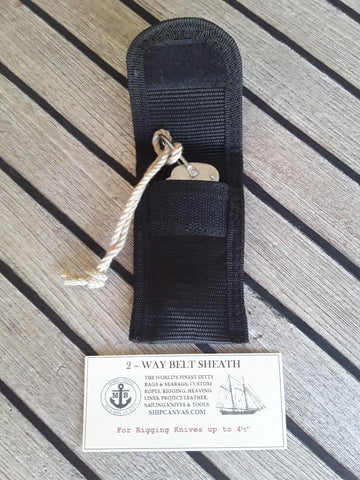Rigging Knife Sheath at SHIPCANVAS