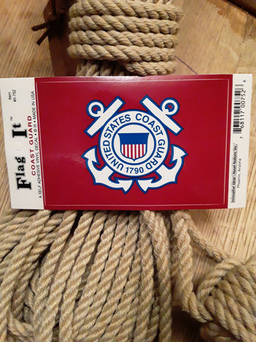 USCG (Coast Guard) emblem decal sticker at SHIPCANVAS