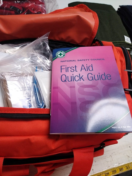 First Aid Book - National Safety Council