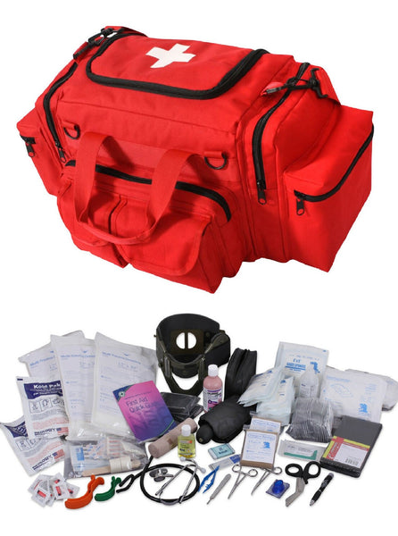 Marine Safety - EMT Medical Trauma Kit & First Aid
