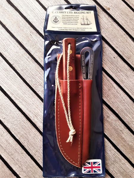 Deck Knife 2-Piece Rigging Kit with Pouch