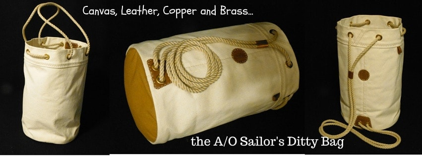 The A/O Sailor - Classic Canvas Ditty Bag