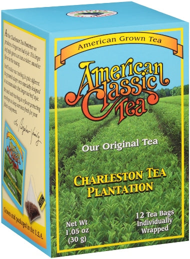 America's Classic Pyramid Style Tea Bags Box of 12