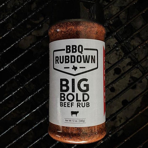 BBQ RUBDOWN BIG BEEF RUB